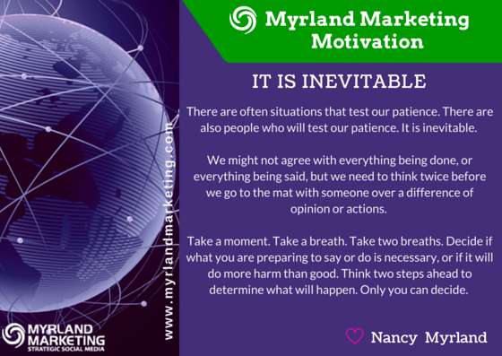 Myrland Marketing Motivation It Is Inevitable The Myrland