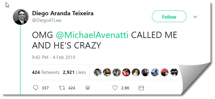 Michael Avenatti Lashes Out On Twitter 3