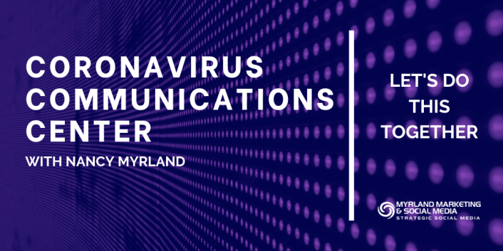 Coronavirus Communications Center for Law Firms with Nancy Myrland