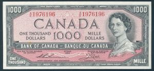 1954 Thousand Dollar Bill