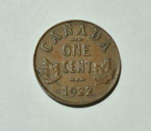 Canada 1922 Penny