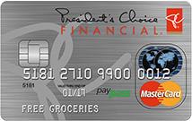 President's Choice Financial MasterCard