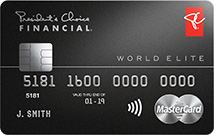 President's Choice Financial World Elite MasterCard