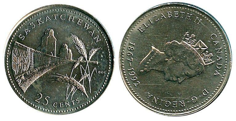Uncirculated 1992 Canada 25 c quarter PROVINCES 12 coins complete Set Collection