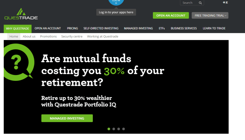 Questrade Review - My Road to Wealth and Freedom