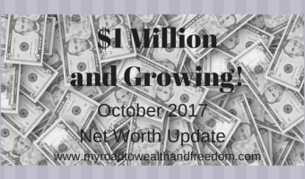 October 2017 Net Worth Update $1,035,179