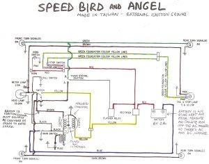Angel and Speedbird « Myrons Mopeds
