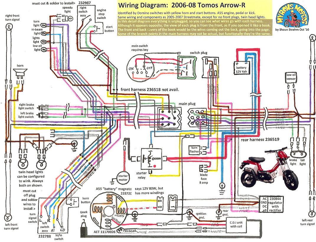 Tomos A35 Wiring Circuit Diagram Symbols \u2022 Kinetic Wire Stator Diagram  Tomos A35 Wiring Diagram