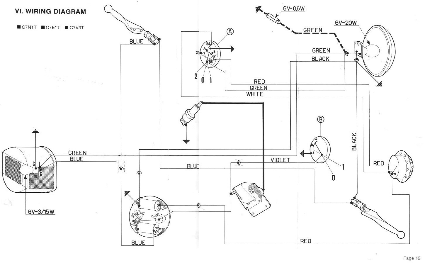 1976 Mercury Grand Marquis Engine 1976 Circuit Diagrams