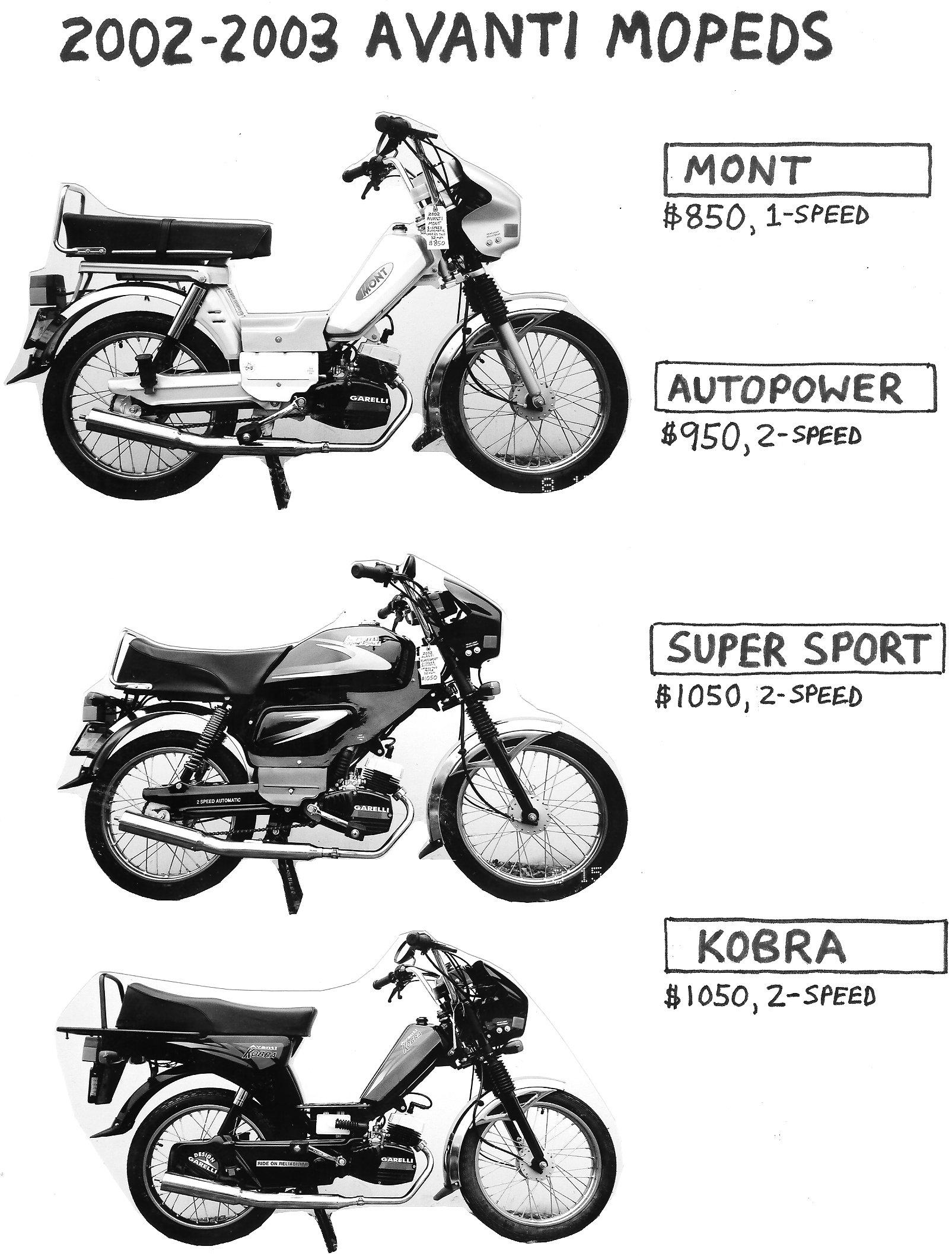 Avanti Parts Myrons Mopeds