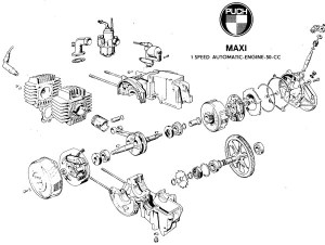 Puch Engine « Myrons Mopeds