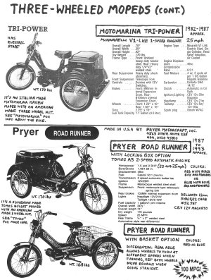 Americanmade Moped Parts « Myrons Mopeds