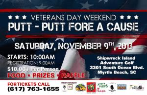 Mini-golfers, Putt-Putt Fore a Cause is this weekend!