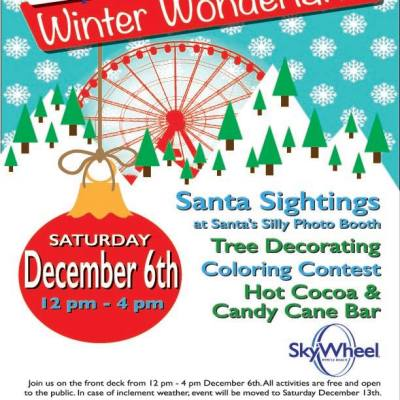 Holiday events & visits with Santa are on this weekend's calendar of events in Myrtle Beach!