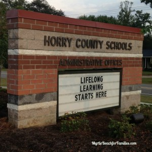Horry County Schools 2016-2017 student calendar has been released