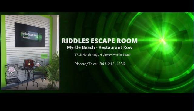 Riddles Escape Room Myrtle Beach, Riddles Escape Room, off-season fun in Myrtle Beach