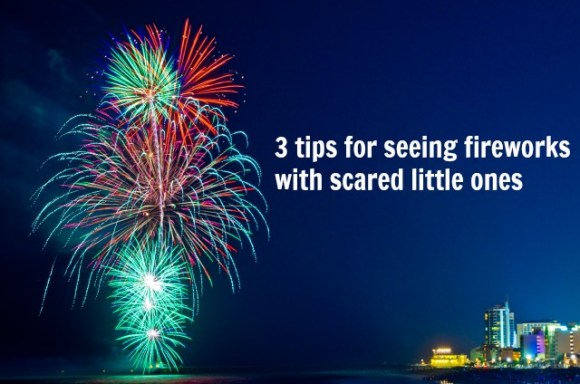 seeing fireworks with children, Myrtle Beach fireworks, fireworks with kids