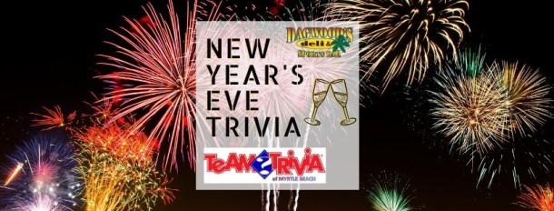 Dagwood's Deli New Years Eve Trivia