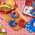 Krispy Kreme Indoughpendece Day Doughnuts