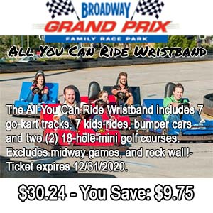 Broadway Grand Prix Ticket Discount