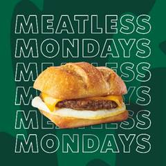 Starbucks Meatless Mondays