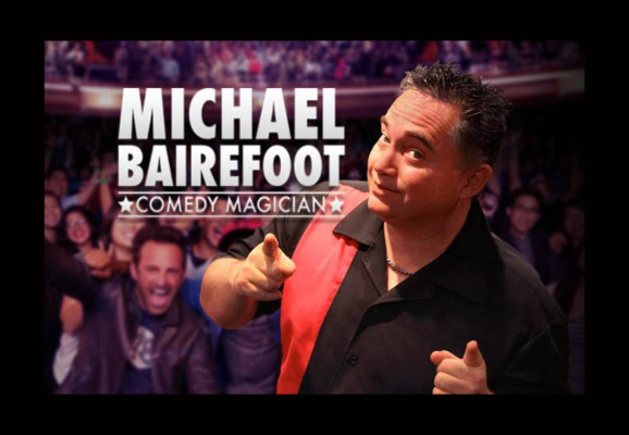 Magic and Comedy Show Michael Bairefoot GTS Theatre