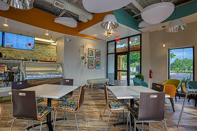 Café Gelato Interior