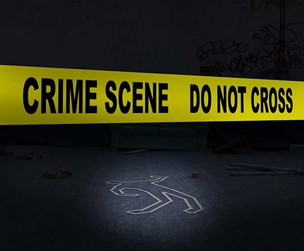 Murder at the Cotton Club Crime Scene