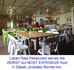 Laban Rata Restaurant is the WORST