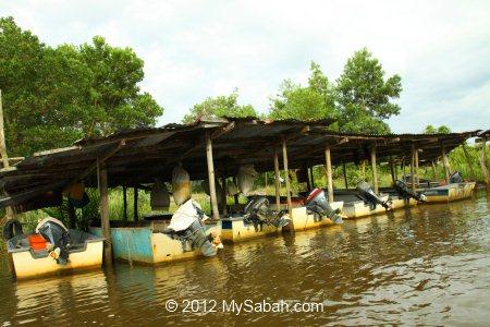 fishing boats parking