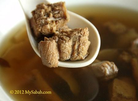 snake soup of Long-Long Restaurant
