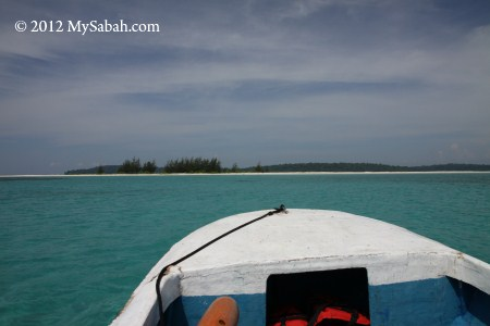 going to Sands Spit Island
