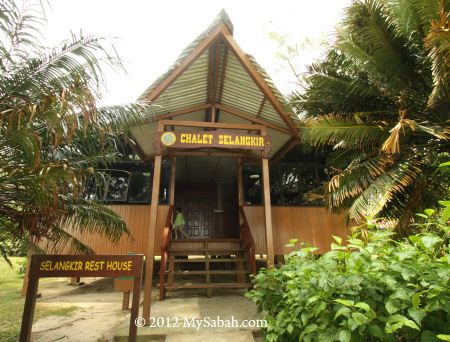 rest house and chalet of Sabah Parks