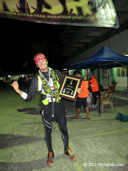 winner of The Most Beautiful Thing (100 KM)