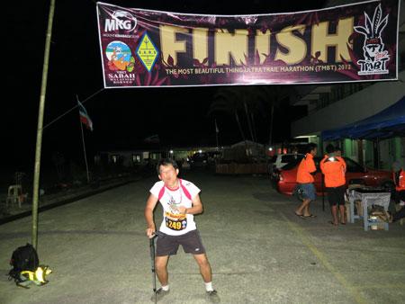 finishing point