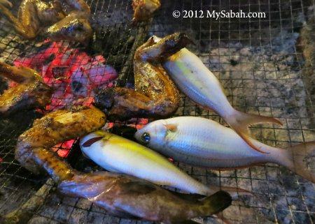 fish barbecue