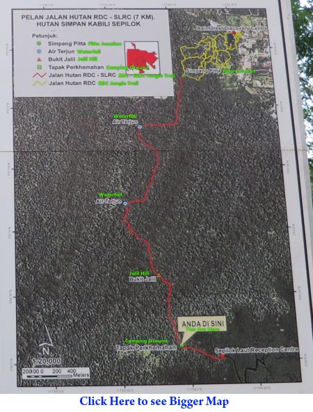 trail map from RDC to SLRC