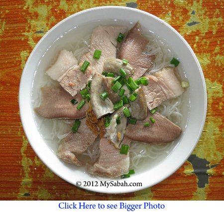 pork noodle soup / cucap mee fong