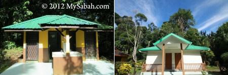 shower room and Muslim prayer room