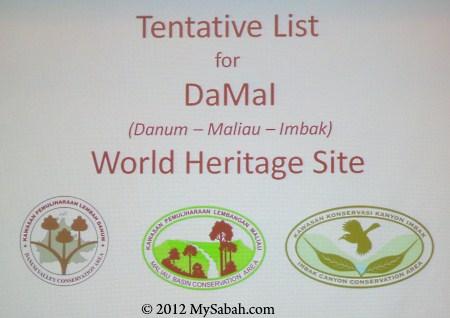 DaMaI WHS: Danum Valley, Maliau Basin and Imbak Canyon