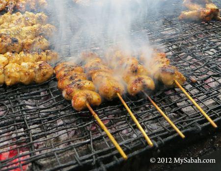 BBQ chicken tail