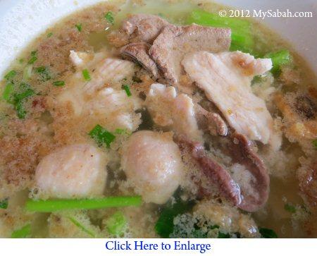 Soup of Pork Noodle