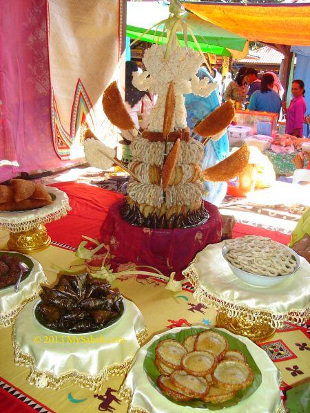 Bajau food and snacks