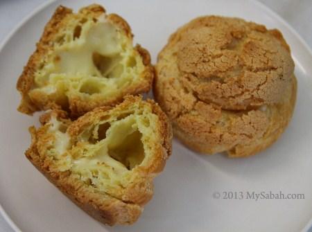 content of cream puff