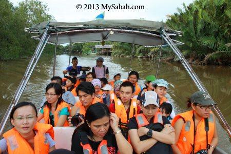river cruise at Weston