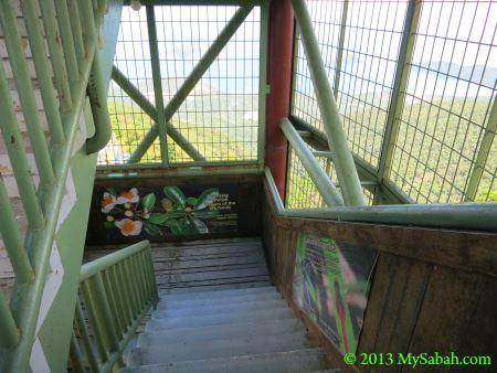 inside Tower of Heaven (Menara Kayangan)