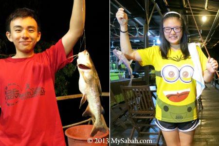 fishing in Klias