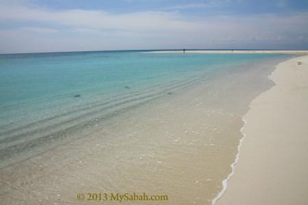 Sands Spit Island of Pulau Tiga Island Park
