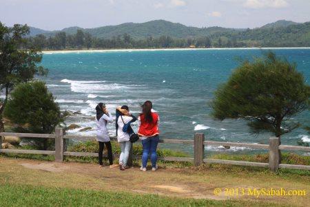 sea view of Tip of Borneo