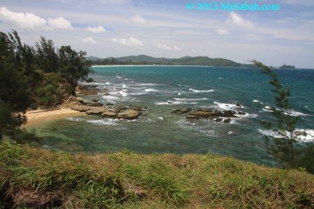sea at Tip of Borneo